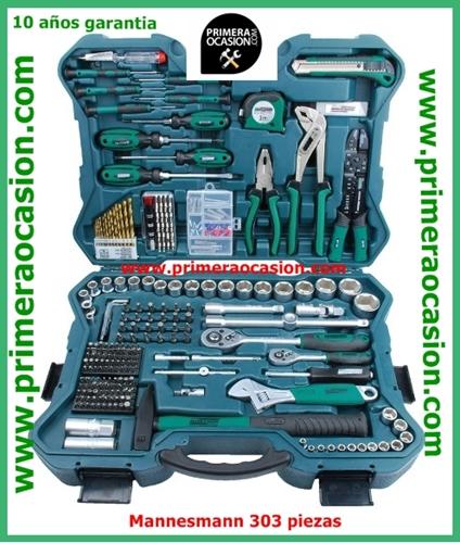 Imagen de Maletin herramientas MANNESMANN 303 piezas