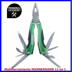 Imagen de Multiherramienta MANNESMANN 11 en 1