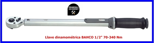 """Imagen de Llave dinamometrica BAHCO 1/2"""" 70-340 Nm"""
