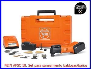 Imagen de AFSC 18 - Set profesional FEIN para el saneamiento de baldosas/baños