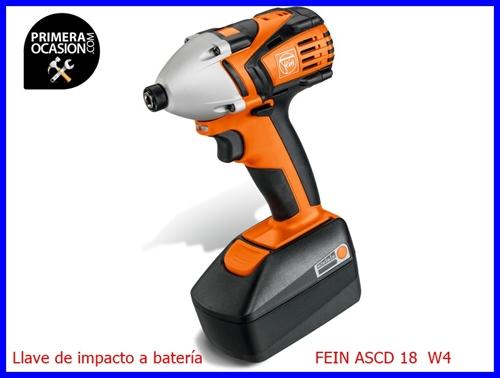 Imagen de Llave de impacto a batería FEIN ASCD 18 W4