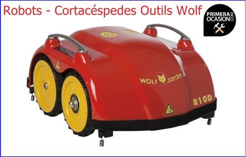 Imagen de Robot Cortacéspedes Outils Wolf  R10D