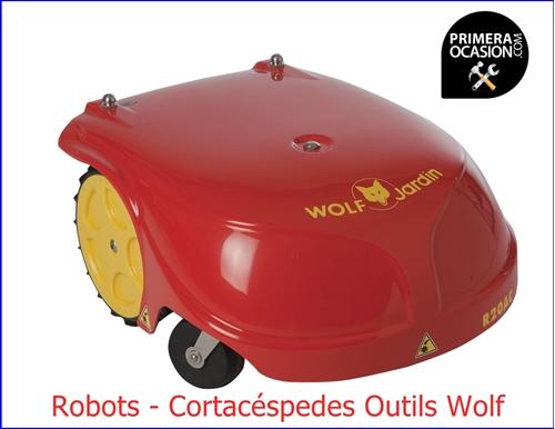 Imagen de Robot Cortacéspedes Outils Wolf  R20AC  29 cm