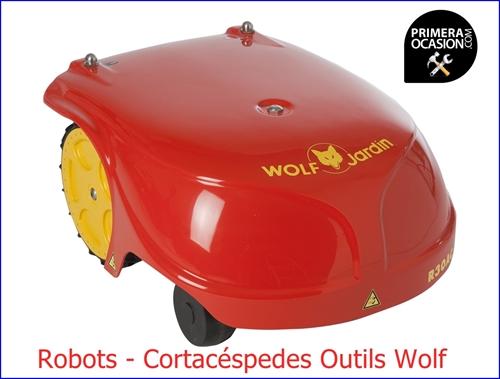 Imagen de Robot Cortacéspedes Outils Wolf  R30AC  29 cm