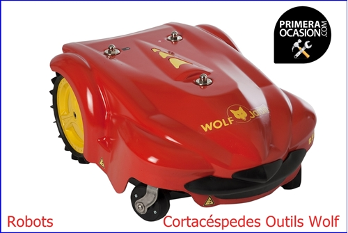 Imagen de Robot Cortacéspedes Outils Wolf  R50AC  36 cm