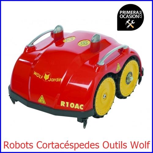 Imagen de Robot Cortacéspedes Outils Wolf  R10AC