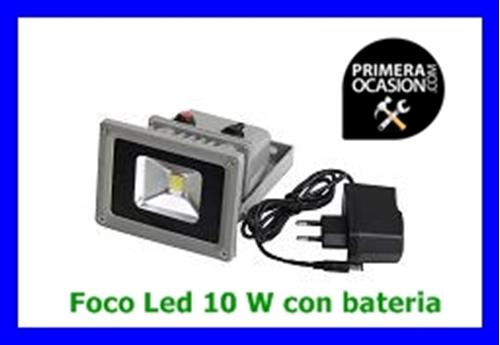 Imagen de Foco Led 10 W con bateria