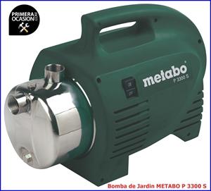 Imagen de Bomba de jardin METABO P 3300 S