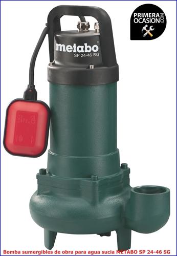 Imagen de Bomba sumergible para agua sucia METABO SP 24-26 G