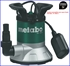 Imagen de Bomba sumergible para agua limpia METABO TP 7500 SI