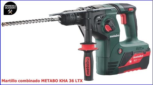Imagen de Taladro bateria METABO KHA 36 LTX 2,6 Ah