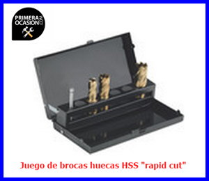 "Imagen de Juego de brocas huecas HSS METABO ""RAPID CUT"""
