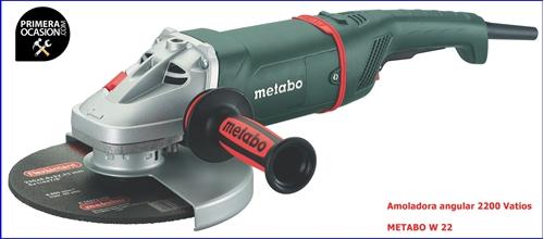 Imagen de Amoladora angular 2200 V METABO W 22