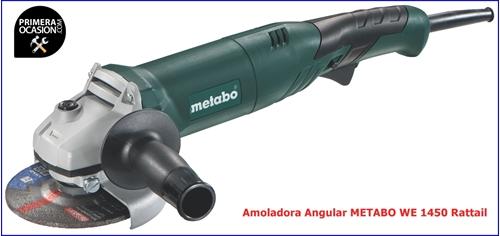 Imagen de Amoladora METABO WE 1450 125 Rattail