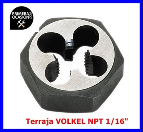 """Imagen de Terraja VOLKEL NPT 1/16""""x27"""