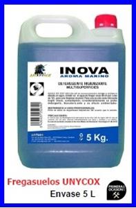 Imagen de Fregasuelos higienizante UNYCOX 25 litros concentrado