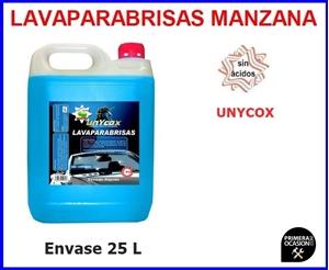 Imagen de Lavaparabrisas manzana UNYCOX 25 Litros