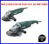 Imagen de 2 amoladoras METABO WX 2200-230+W 750-125