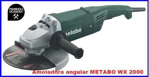 Imagen de Amoladora angular METABO WX 2000