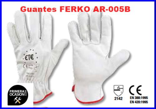 Imagen de Guantes piel FERKO F-005BC