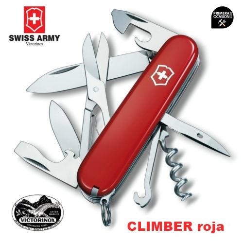 Imagen de Navaja Suiza VICTORINOX  CLIMBER roja