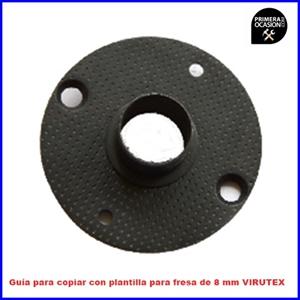 Imagen de Guía para copiar con plantilla para fresa 8 mm VIRUTEX