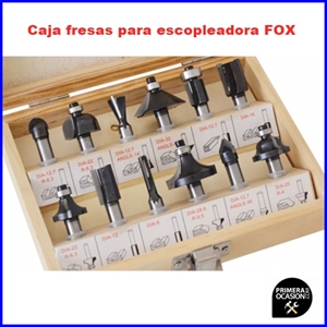 Imagen de Caja fresas para escopleadora FOX F60-152