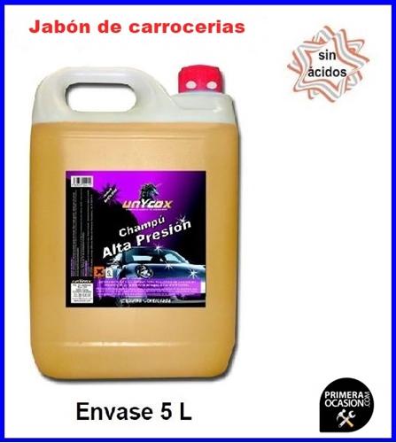 Imagen de Jabón de carrocerias UNYCOX 5 L
