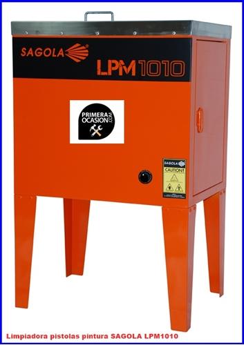 Imagen de Limpiadora pistolas pintura SAGOLA LPM1010