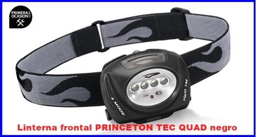 Imagen de Linterna frontal PRINCETON TEC QUAD negro