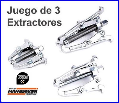 Imagen de Juego de 3 extractores MANNESMANN
