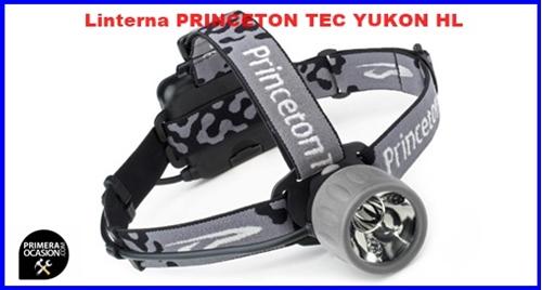 Imagen de Linterna frontal PRINCETON TEC YUKON HL negro