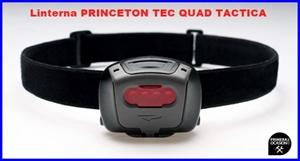 Imagen de Linterna frontal PRINCETON TEC QUAD TACTICA negro