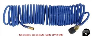 Imagen de Tubo espiral con enchufe rapido CEVIK CA-SPR 10-812