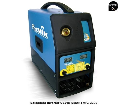Imagen de Soldadora multifuncion CEVIK CE-SMARTMIG 2200