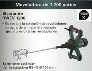 Imagen de Mezclador METABO RWEV 1200