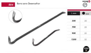 Imagen de Barra de uña 1200 mm DOGHER TOOLS 884-05-1200