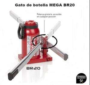 Imagen de Gato de botella MEGA BR20