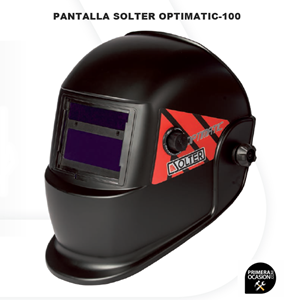 Imagen de Pantalla soldadura electronica SOLTER OPTIMATIC 100