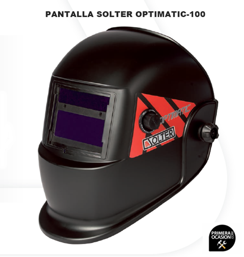 Imagen de Pantalla soldadura electronica SOLTER OPTIMATIC 100