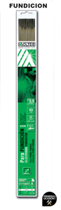 Imagen de Blister 10 electrodos fundicion SOLTER 2.50 mm