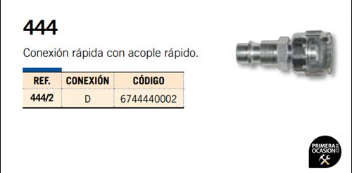 Imagen de Conexion rapida con acople rapido MICHELIN 444/2