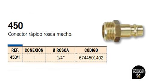 Imagen de Conector rapido rosca macho MICHELIN 450/1