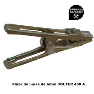Imagen de Pinza de masa SOLTER laton 400A