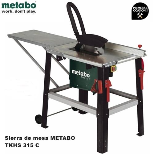 Imagen de Sierra circular de mesa METABO TKHS 315 C