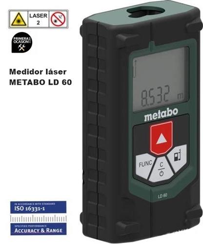 Imagen de Medidor laser de distancia METABO LD 60