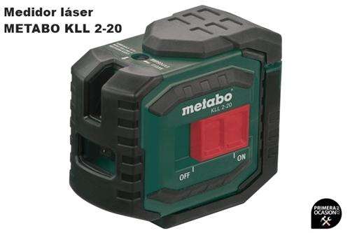 Imagen de Medidor laser de lineas de cruce METABO KLL 2-20
