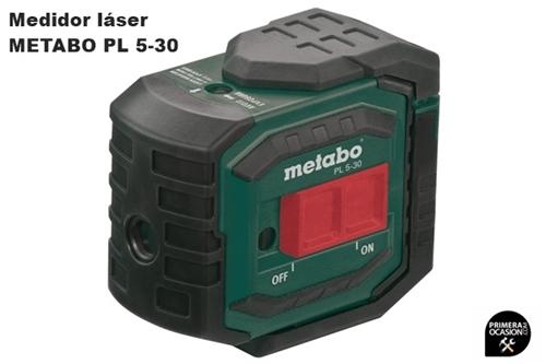 Imagen de Medidor laser de 5 puntos METABO PL 5-30