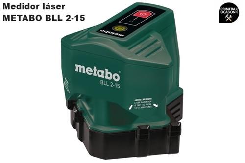 Imagen de Medidor laser de 2 lineas de suelo de 90º METABO BLL 2-15
