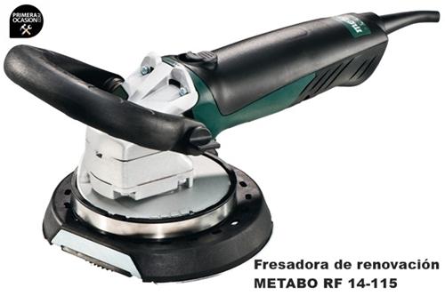 Imagen de Fresadora de renovacion METABO RF 14-115
